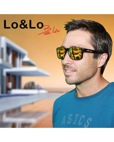 Gafas Lo&Lo Bela Transparent Blue
